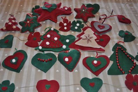 Décoration De Noel à Fabriquer En Feutrine by Deco De Noel En Feutrine A Faire Soi Meme My