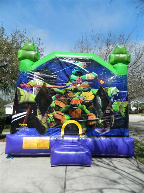 teenage mutant ninja turtles house teenage mutant ninja turtles combo bouncing beez