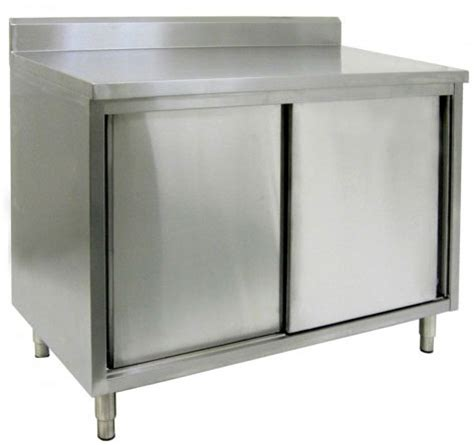 Restaurant Cupboards Restaurant Quality Enclosed Stainless Steel Base Tables