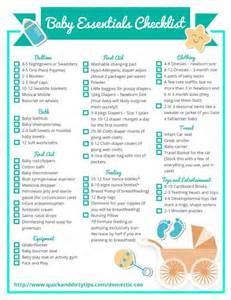 list of items to buy for a new house essential baby items checklist