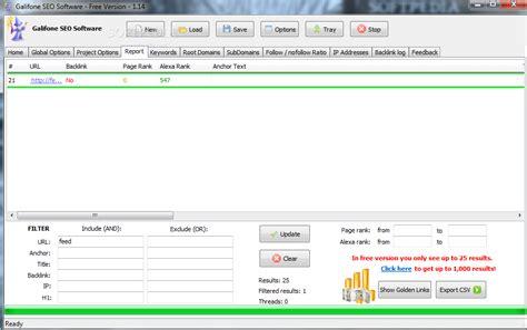 best free seo software galifone seo software