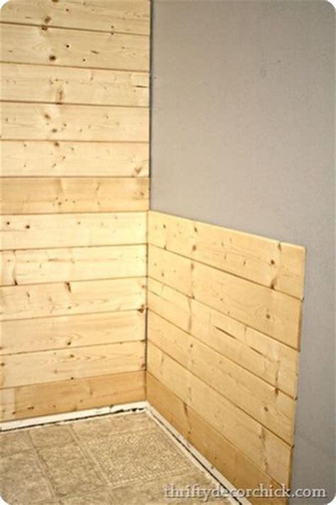 Wood Beadboard Planks - ideia para revestir paredes com madeira decora 231 227 o e dicas