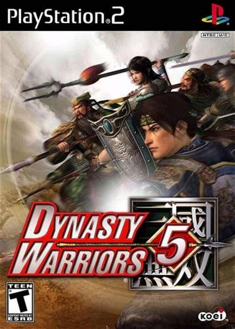 emuparadise the warriors ps2 dynasty warriors 5 usa iso download