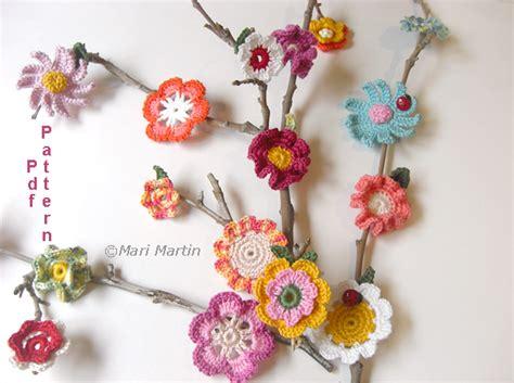 crochet pattern flower applique crochet colorful crochet flower applique pattern