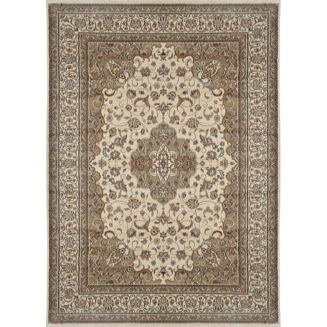 7 X10 Area Rug by Home Dynamix Bazaar Trim Hd2412 Ivory 7 Ft 10 In X 10 Ft 1 In Indoor Area Rug 1 Hd2412 100