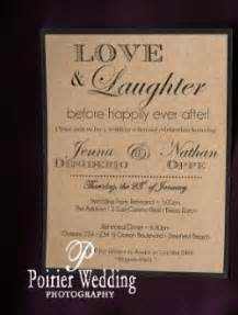 after wedding invitations wording and laughter before happily after as wedding invitation wording vintage wedding