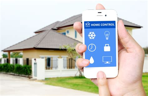 home automation your smartphone a home security