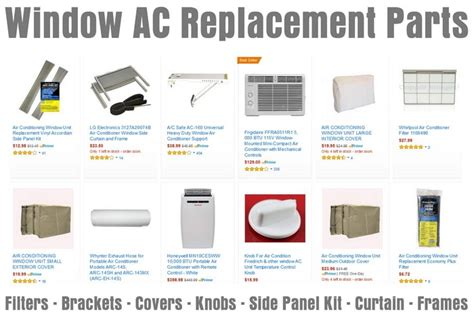 air conditioner side panel kit window air conditioner cools then quickly turns