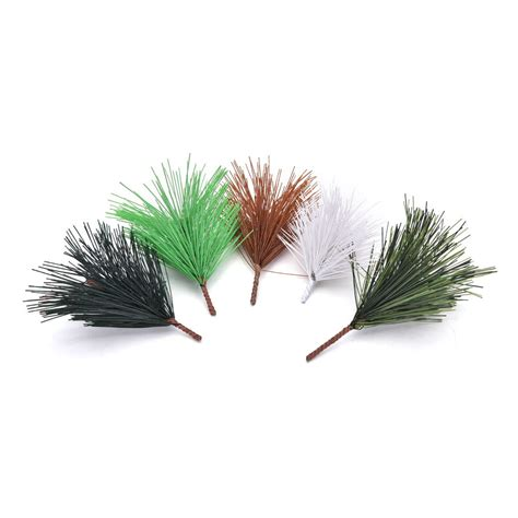 artificial christmas tree 3 pcs sets 10 pcs lot artificial pine needles tree decor needle mixed branchs ornament