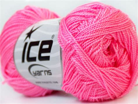 Baby Pink 30gr Lot Of 10 Skeins Yarns Etamin Knitting Yarn Pink