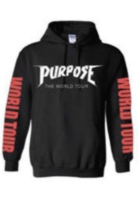 Sweater Bieber Purpose justin bieber purpose tour merch sweatshirt
