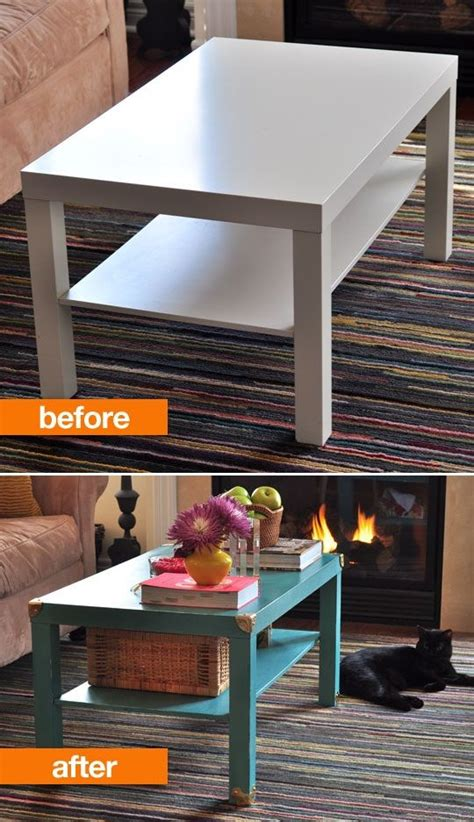 ikea lack coffee table hack before after noelle s painted ikea lack hack