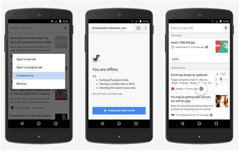who makes android chrome for android makes it easier to a web page and read it offline android central