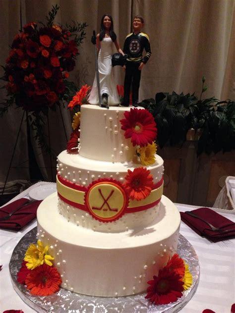 hockey themed wedding favors