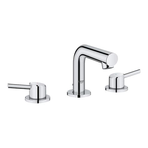 grohe concetto bathroom faucet grohe concetto 8 in widespread 2 handle mid arc bathroom