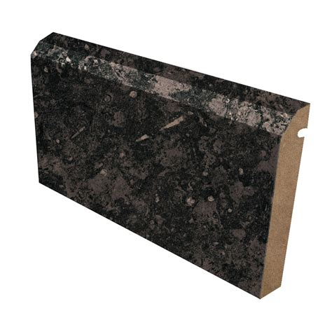 Black Formica Countertop by Ogee Edge Laminate Countertop Trim 3461 Black Fossilstone