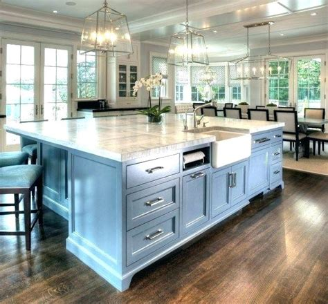 kitchen islands with sink view size gray island stove