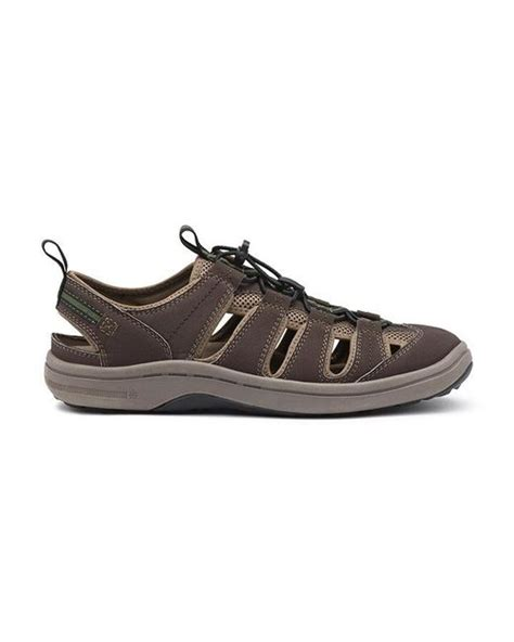 bass water shoes g h bass co stingray water sneaker in brown for