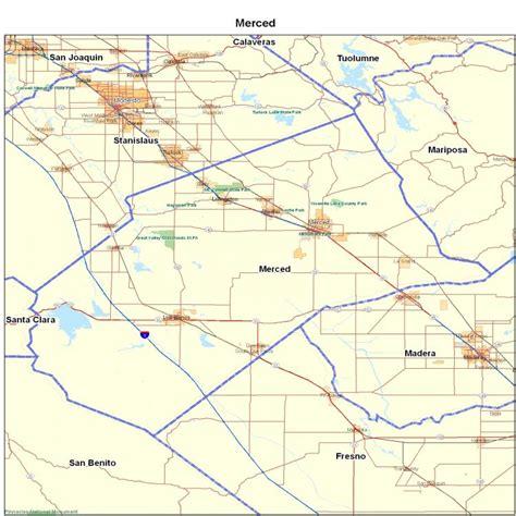 california map merced merced county ca california maps map of california