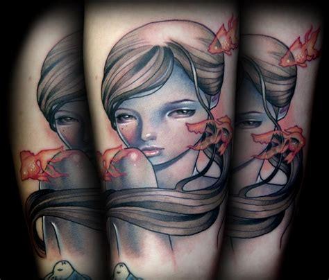 audrey kawasaki tattoo kawasaki s thetattooedgeisha