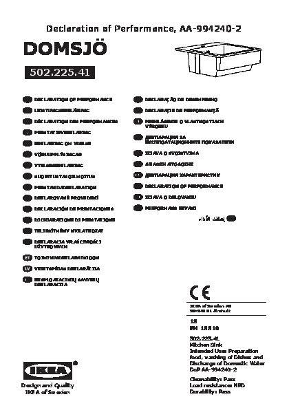 Evier Domsjo 1 Bac by Domsj 214 201 Vier 1 Bac Blanc Ikea Ikeapedia