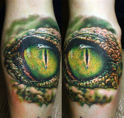 alligator tattoo eye crocodile by nikasamarina on deviantart