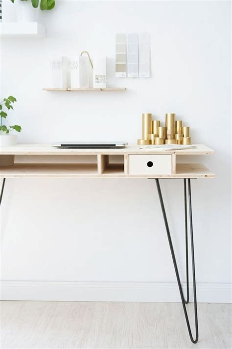 Plywood Desk Diy Best 25 Plywood Desk Ideas On Pinterest Build A Custom Couches And Window Desk