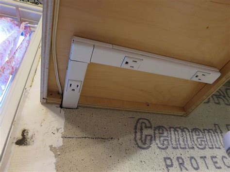cabinet lighting with integrated outlets 46 best cabinet power images on cabinet