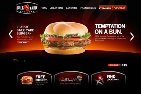 backyard burgers 7 tips tricks to creating a gorgeous restaurant website