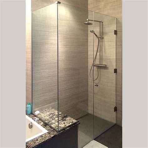 showerhaus frame less glass showers shower sliding