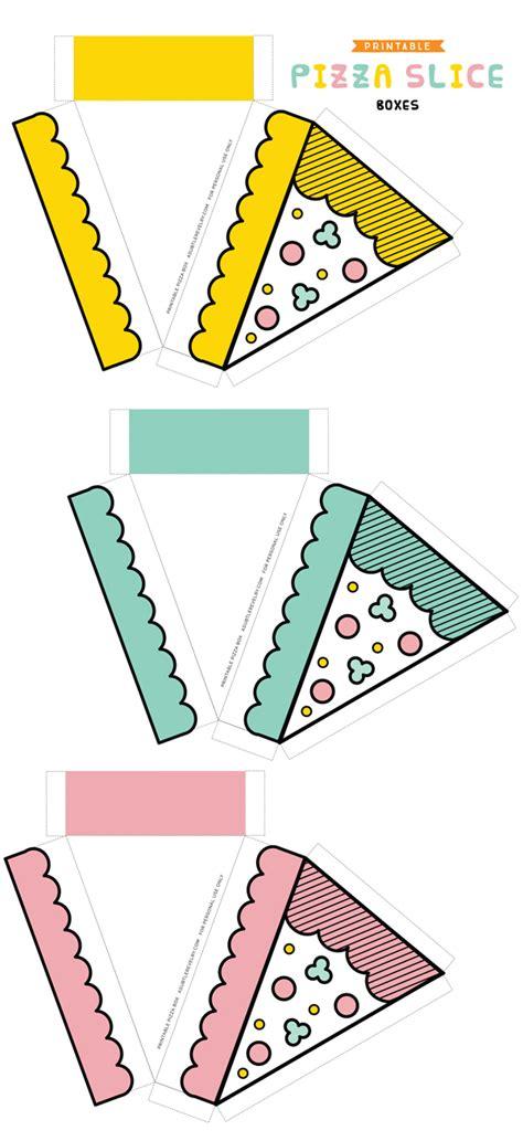 Pizza Slice Template