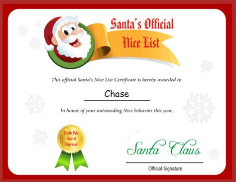 Letter From Santa Template Free Printable Letter From Santa Template Free Crna Cover Letter