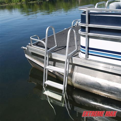 boat ladder instructions extreme max boarding ladder ladder dock ladder pontoon