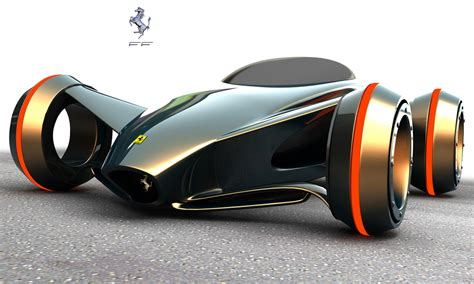 future ferrari awesome 3d futuristic cars and motorcycles conceptual