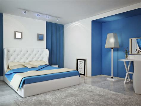 modern bedroom color schemes modern white and blue bedroom color schemes with gray