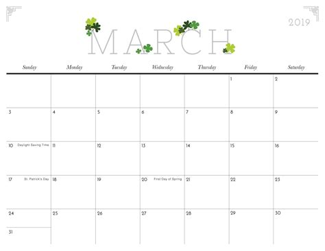 cute march  calendar template  printable calendar june calendar printable calander