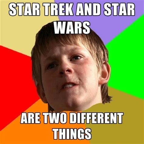 Star Wars Star Trek Meme - star trek vs star wars meme memes
