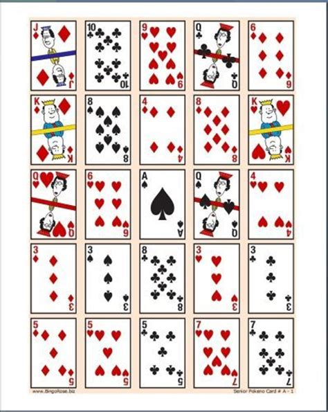 printable playing card games 210 best images about pokeno game night on pinterest
