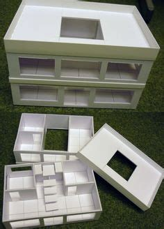 foamcore building templates warhammer 40k pinterest