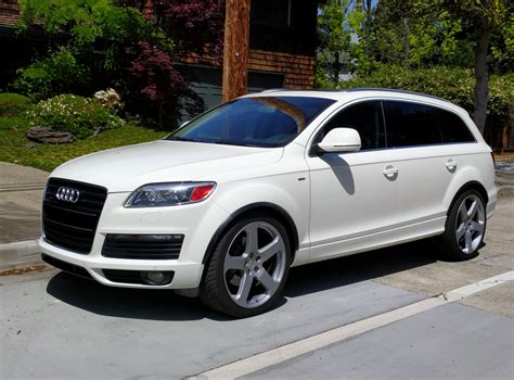 Audi Q7 Service by Service Manual 2009 Audi Q7 Rear Wheel Removal Audi Q7