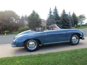 Porsche 356 Aquamarine Blue Find New 1957 356 Porsche Speedster Original Aqua