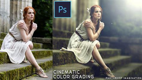 color correction photoshop cinematic color grading effect photoshop tutorial