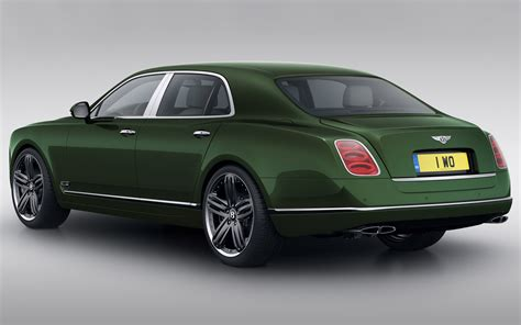 bentley mulsanne 2013 2013 bentley mulsanne le mans edition rear three quarter