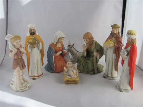 sale vintage lefton nativity figurines the bethlehem