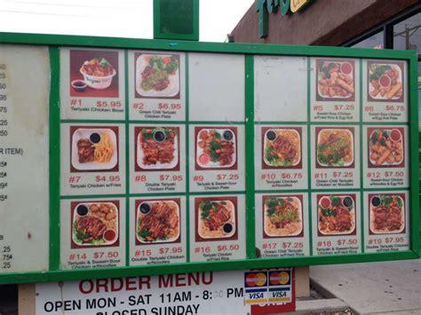 Come With Me Bowl Menu by Teriyaki Chicken Bowl Menu Menu For Teriyaki Chicken Bowl