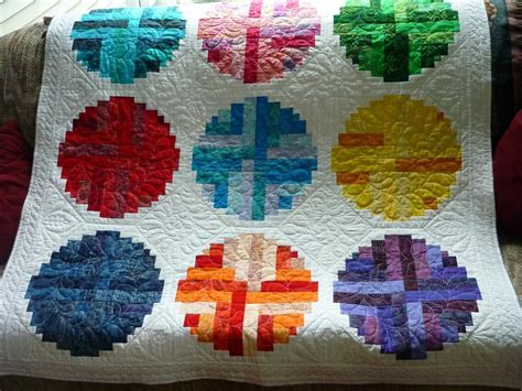 curved log cabin keeping u n stitches quilting