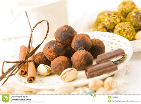 Handcrafted Chocolates - handmade chocolates royalty free stock photos image 6750928