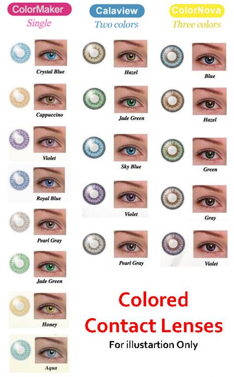 color contact lense pictures images picture of contact lenses colors jpg