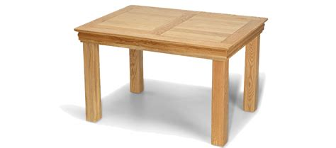 dinner table constance oak 125 cm dining table quercus living