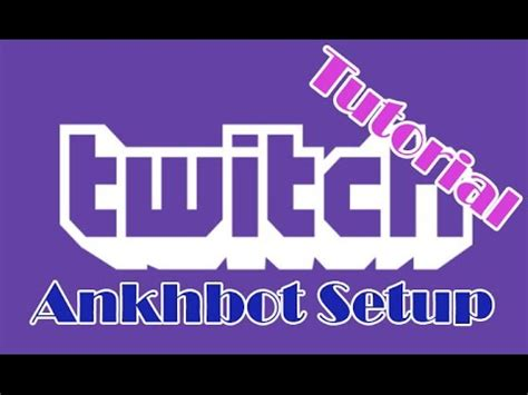 Ankhbot Giveaway - how to setup modbot loyalty bot program for twitch tv doovi